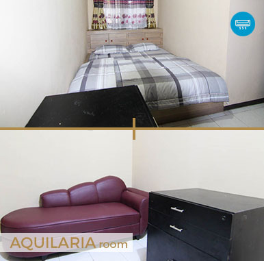 Aquilaria Room - Sava Guest House - Penginapan Murah di Bandung