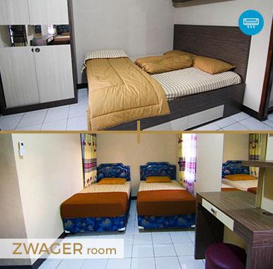 Zwager Room - Penginapan Murah di Bandung @ Sava Guest House